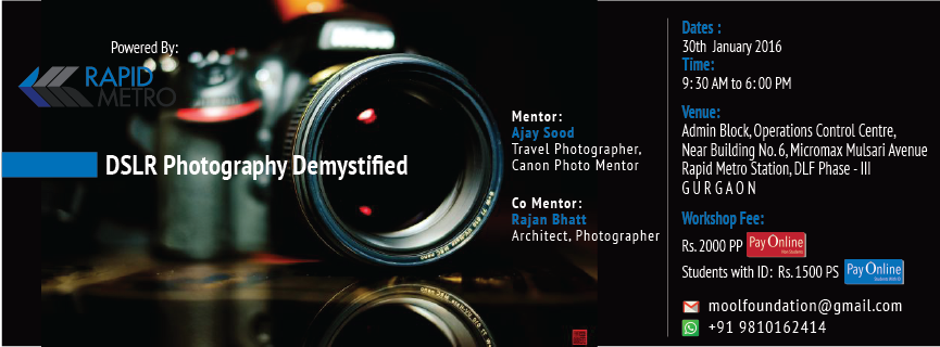 DSLR Photography Demystified