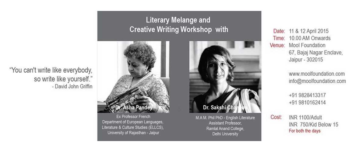 Literary Melange and Creative Writing Workshop