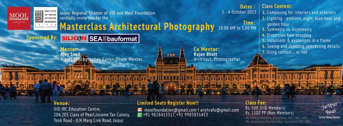 Masterclass Architectural Photography